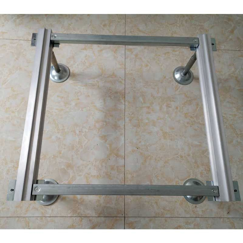 Aluminum Alloy Column Track Pedestal