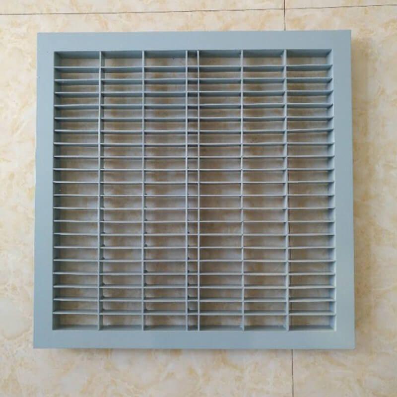 Slant 16º Steel Perforated Panel