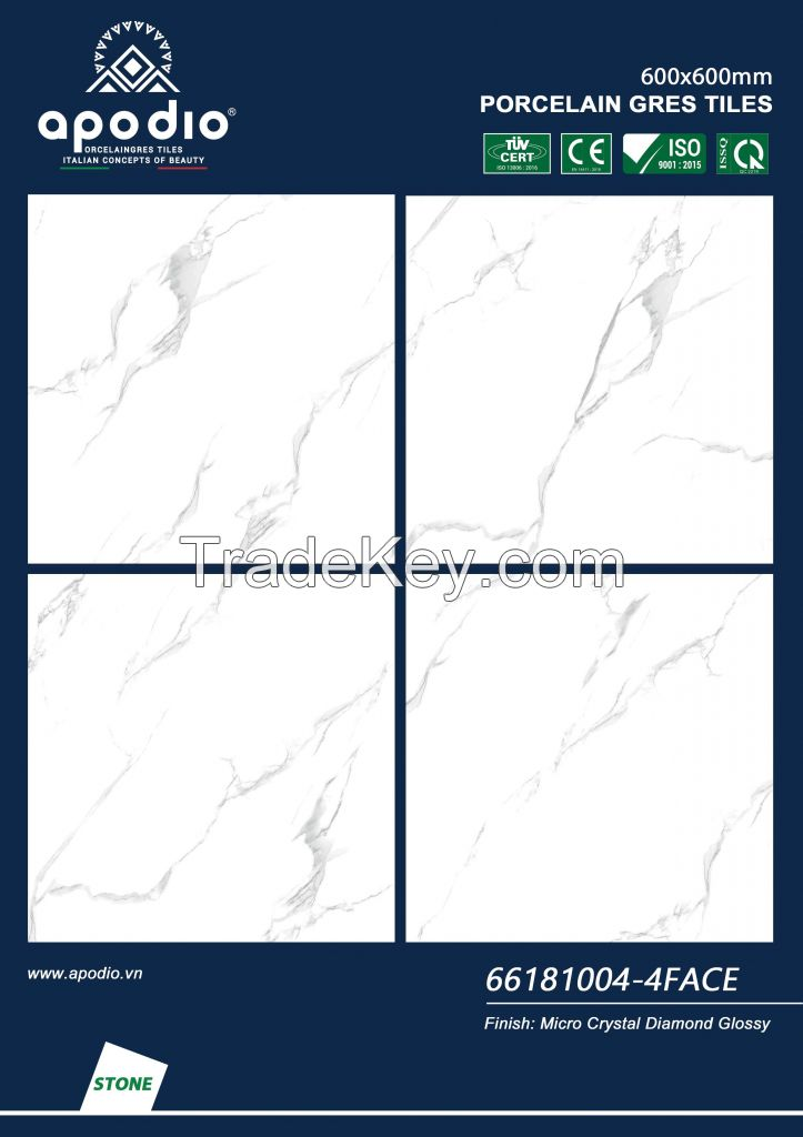 APOIDO MICRO CRYSTAL GLOSSY TILE 600x600 - in VietNam