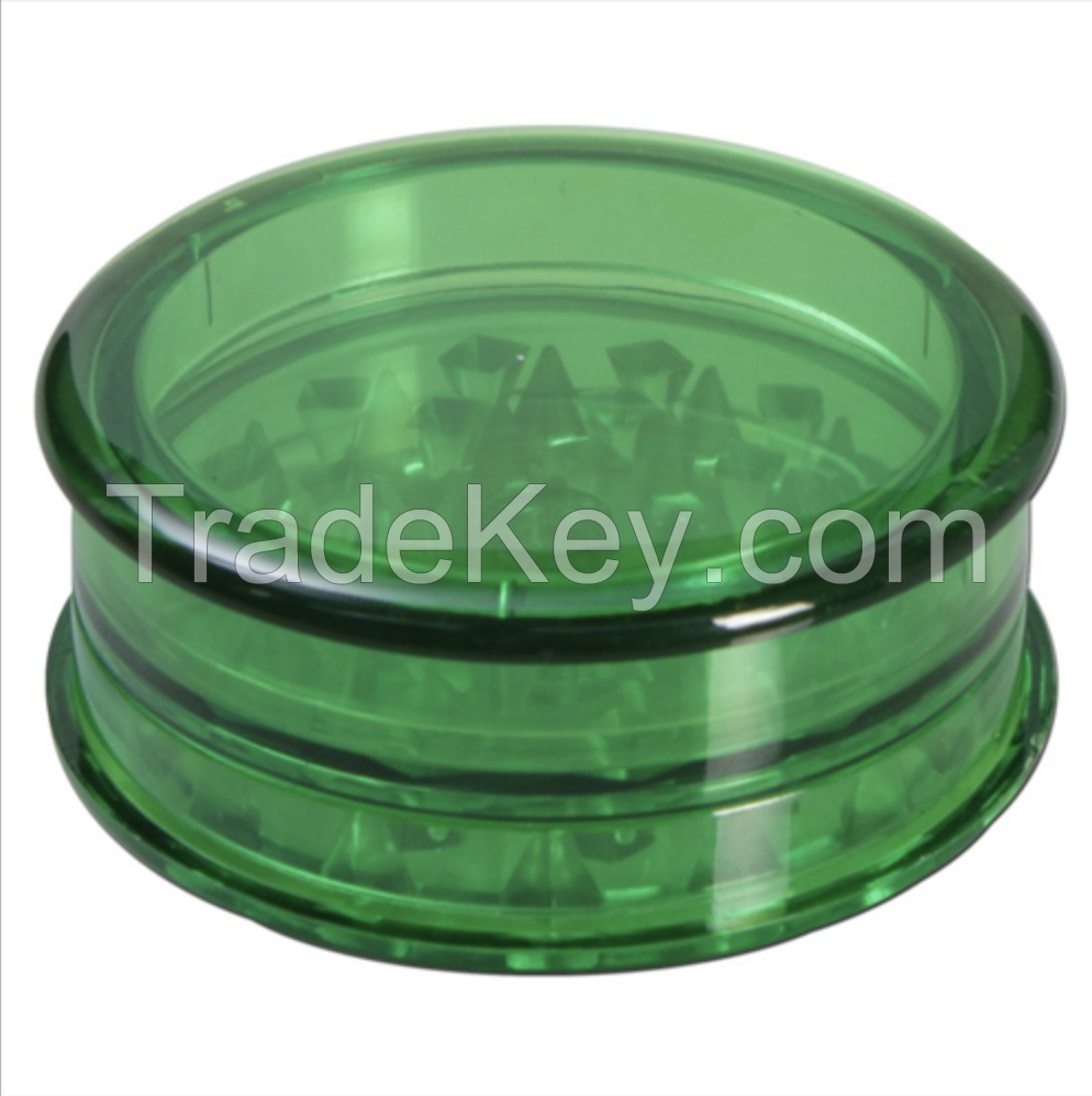 2.5 inch Acrylic Herb Grinder with 3-parts