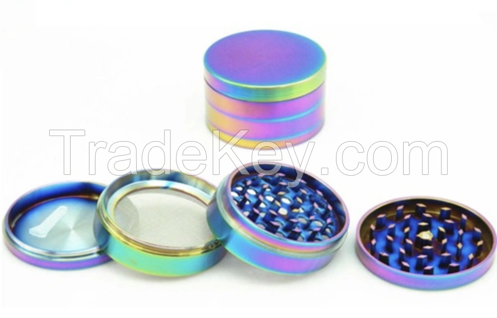 Engraving Logo for Free, 40mm 50mm 4 Layers Wholesale Herb Grinder, Herb Grinder