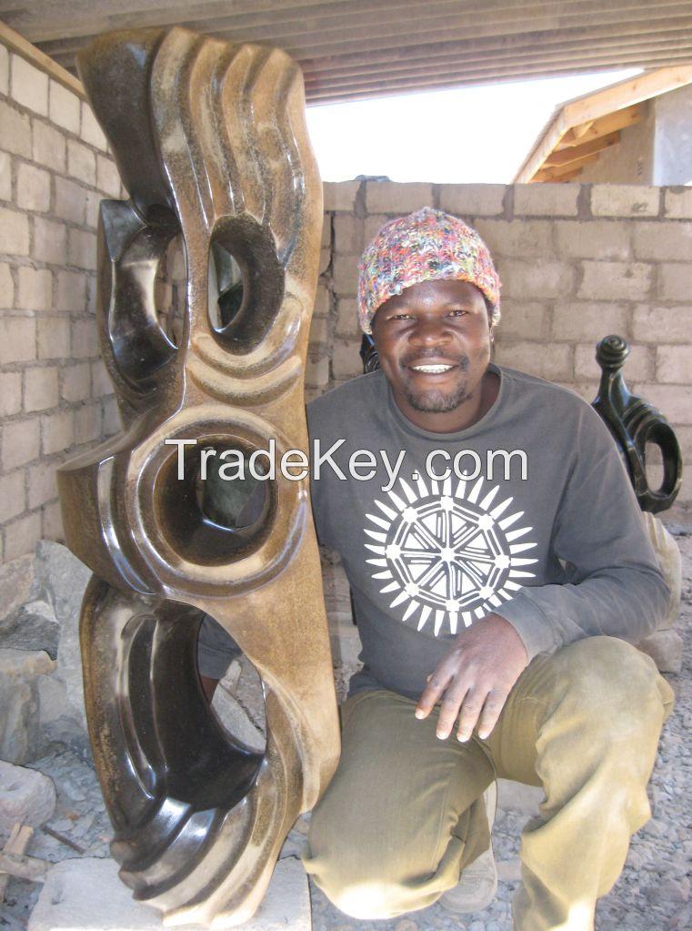 africa stone sculpture
