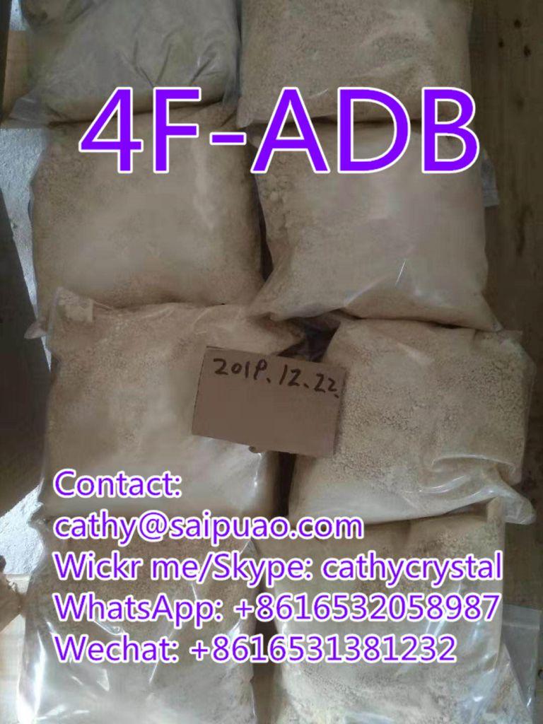 High Purity 4f-adb Replace 5fadb Strong 4fadb Yellow Powder 4f-adb (cathy@saipuao.com)