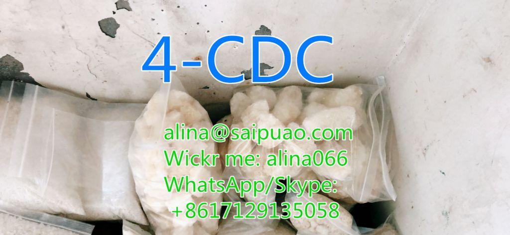 RC Manufacturer 4-cdc Stimulant Chemical 4cdc In Stock(alina@saipuao.com)