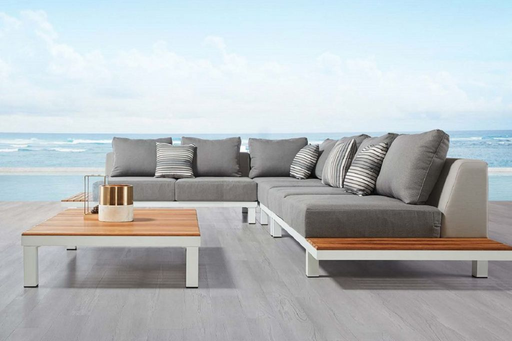 Outdoor sofa upholstered series