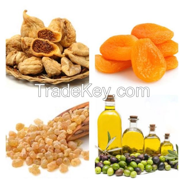 Dried Fig, Dried Apricot