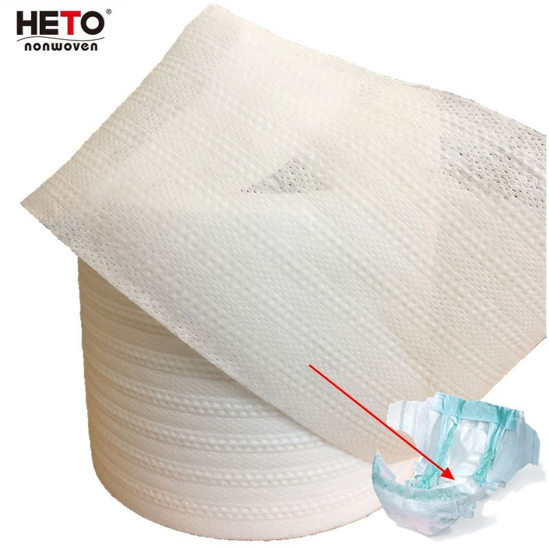 diaper material embossed pp nonwoven fabric for hygiene industry