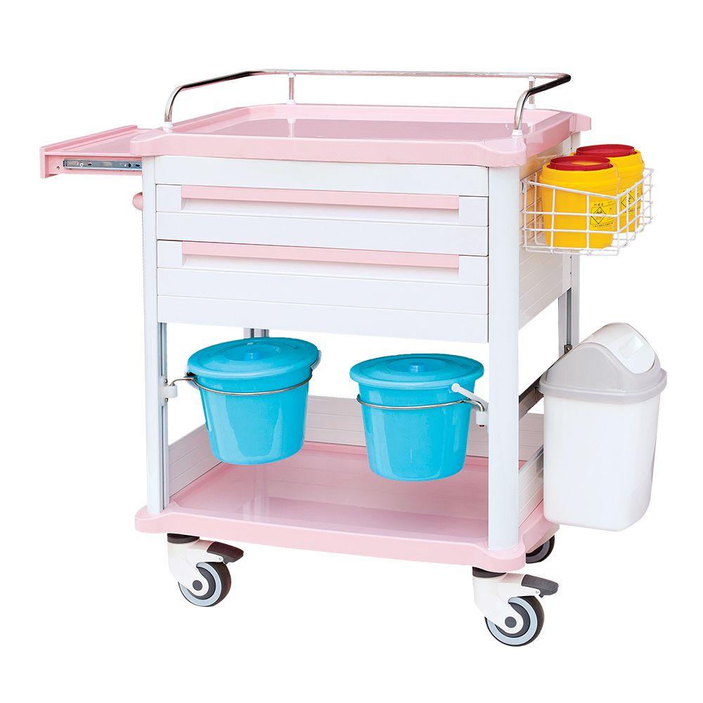 ABS Treatment Cart Hospital medical trolley