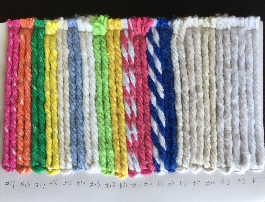 Friction spun mop yarn cotton/ polyester mop yarn