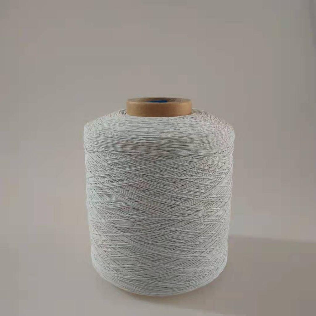 hilo de caucho recubierto de poliester hilo elastico para tira elastic