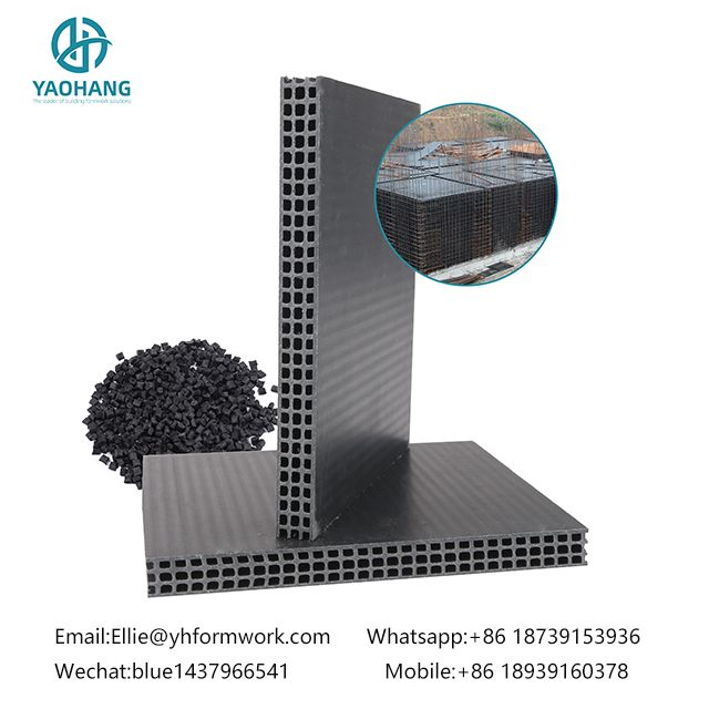 Yaohang PP Hollow Plastic Formwork for House Building