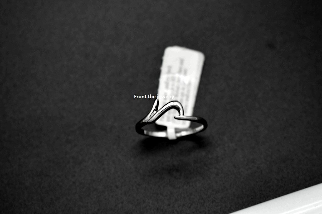 The factory exports the individuality contracted different shape whole circle plating platinum ring