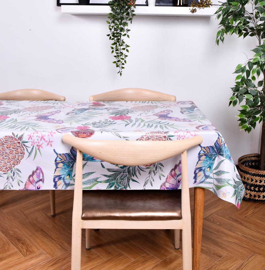 Soft as cotton PU Tablecloth