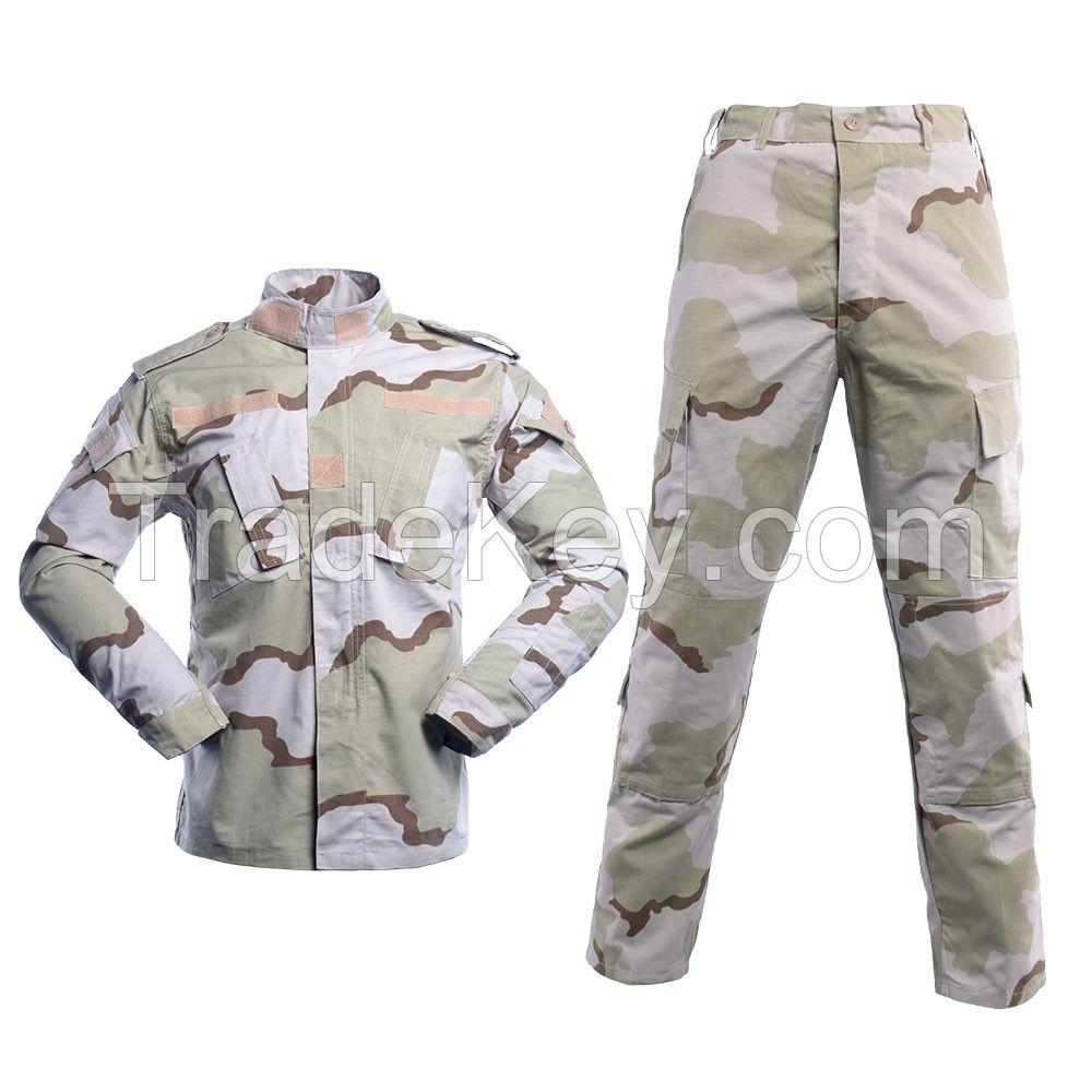 Tri-color Desert ACU2 Army Uniform