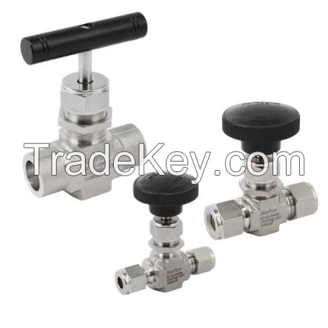 SWG connection needle valves