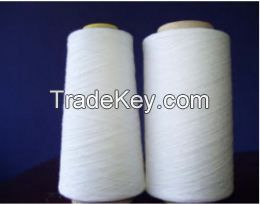 Regenerated Poly/Cotton Yarn O/E Ne 3-20s Bleach White Cheap