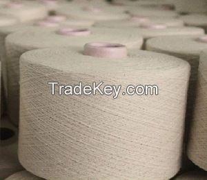 Regenerated 100% Cotton Yarn O/E Ne 3-20s Natural White Cheap