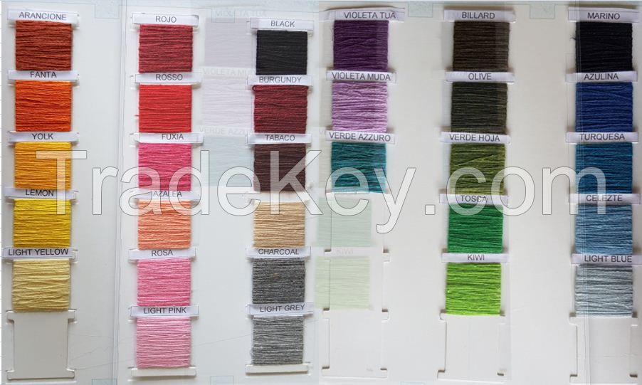 Regenerated Color Yarn O/E Ne 3-20s Cheap
