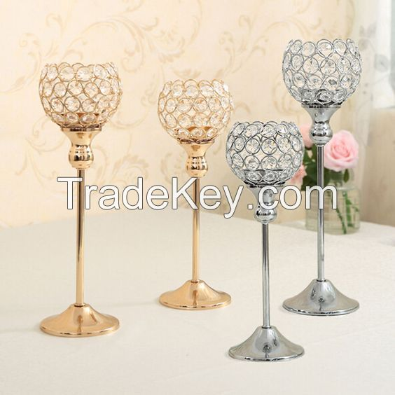 5 Arms Candlesticks Candelabrum Candle Holders