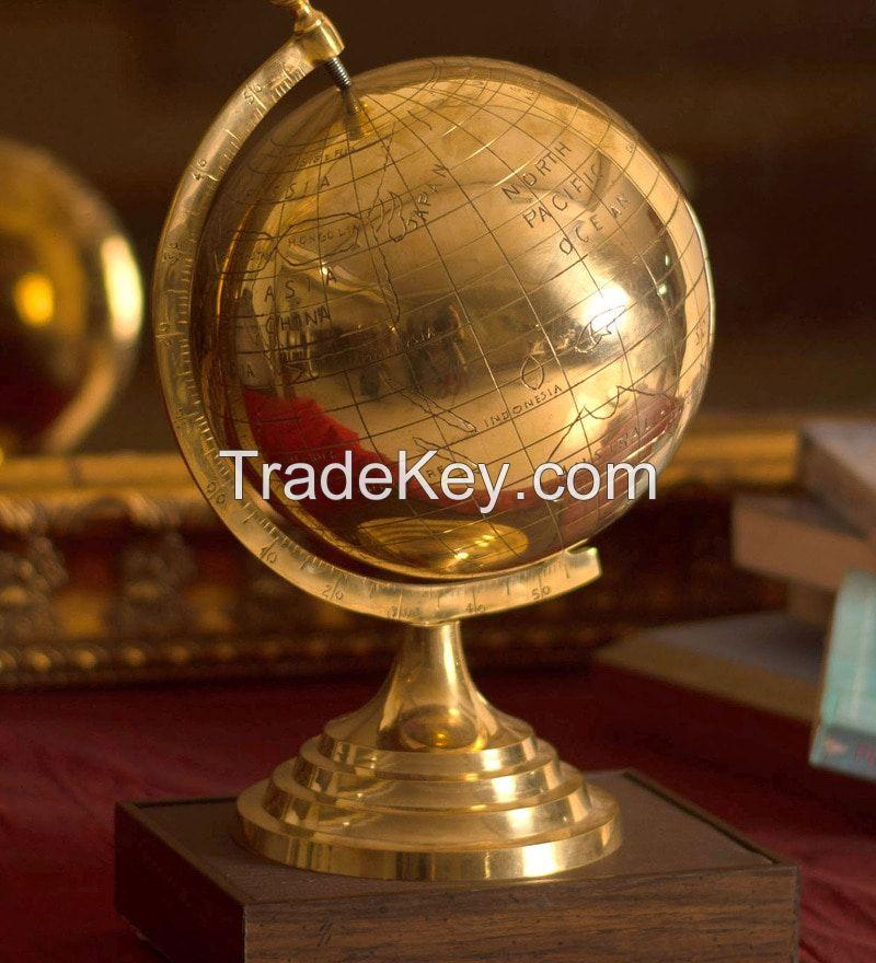 Desktop Brass Globe