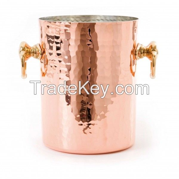 Copper Champagne Bucket, 5 Qt.