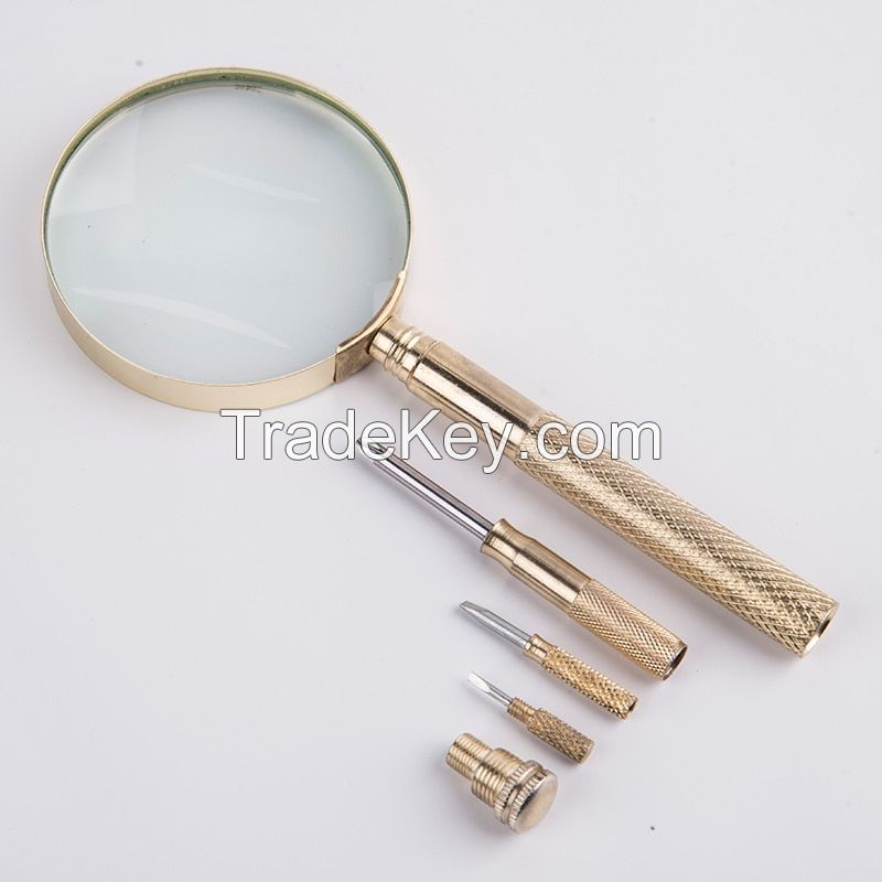 Optical Glass Magnifier