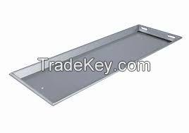 Stainless Steel Body Cadavar Tray