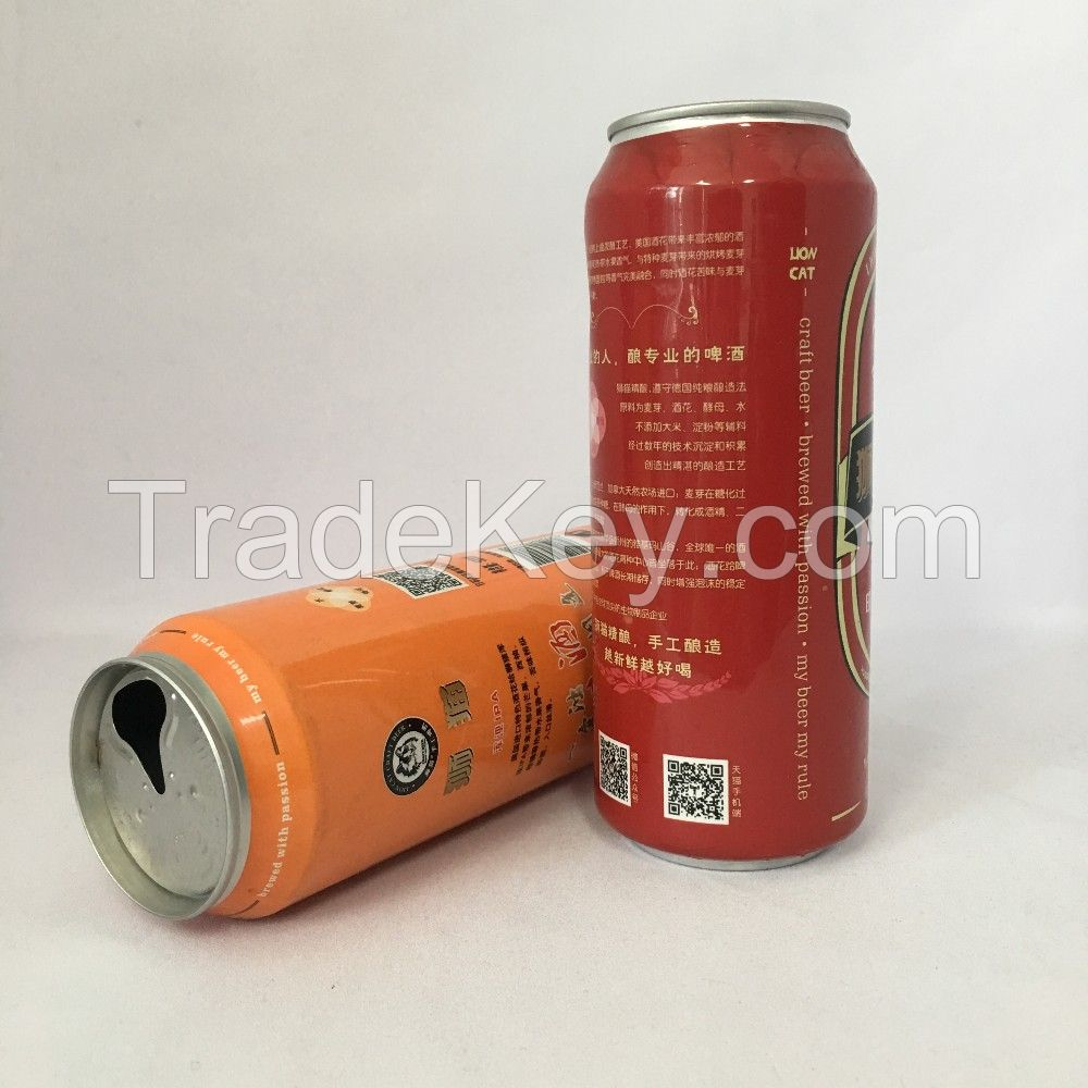 Two-piece Aluminum Beverage 330ml Empty Can