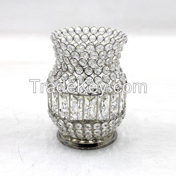 Crystal Flower Pots