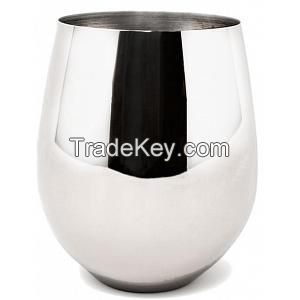 STEEL GOBLET GLASS