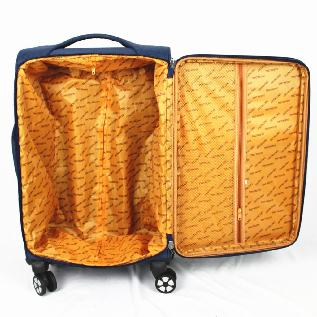 Chinese New Design Hot Selling 3pcs Fabric Luggage 4pcs Soft Luggage Travel Suitcase