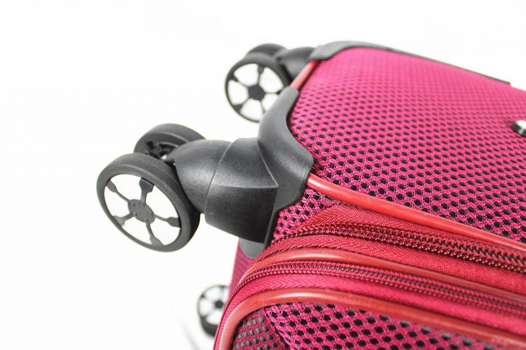 Chinese Fabric trolley bags set Travel luggage bag Polyester expandable luggage set 4pcs
