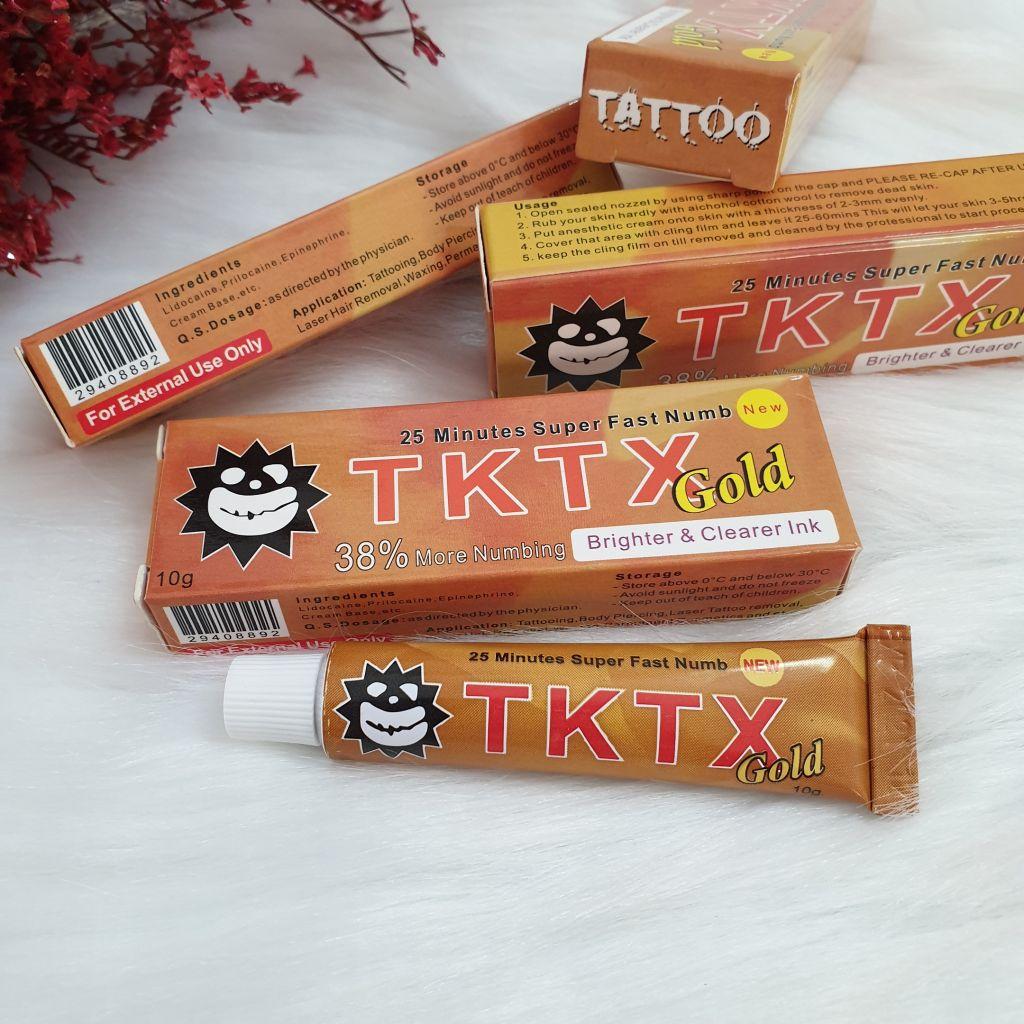 Tktx new Crema anestetica tatuaggi Tktx green 40% tattoo, laser, depilazione 10g
