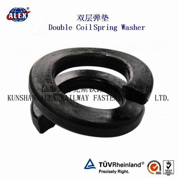 Rail High Strength DIN 127 Double Coil Spring Washer/ Falt Washer