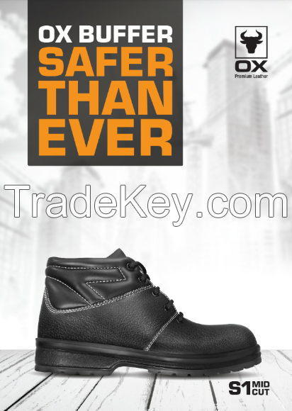 OX Buffer Safety Shoe - Mid Cut