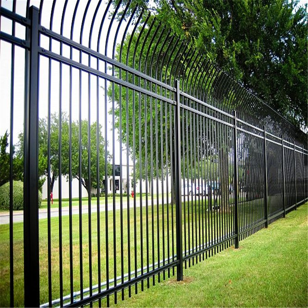 Cheap Wrought Iron Spear Top Steel Fence