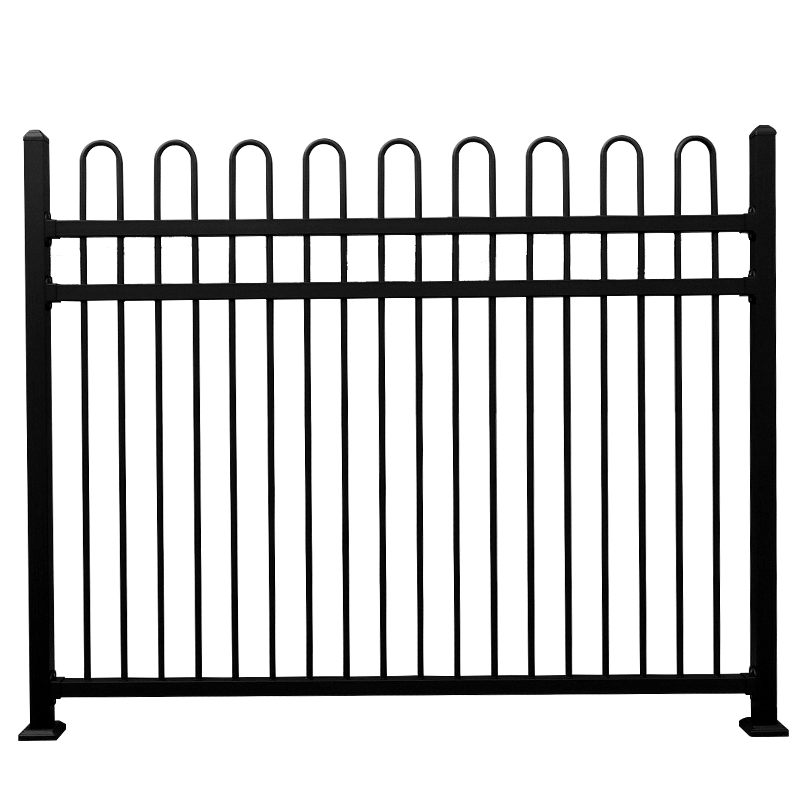 Nice looking most popular swimming pool metal fence