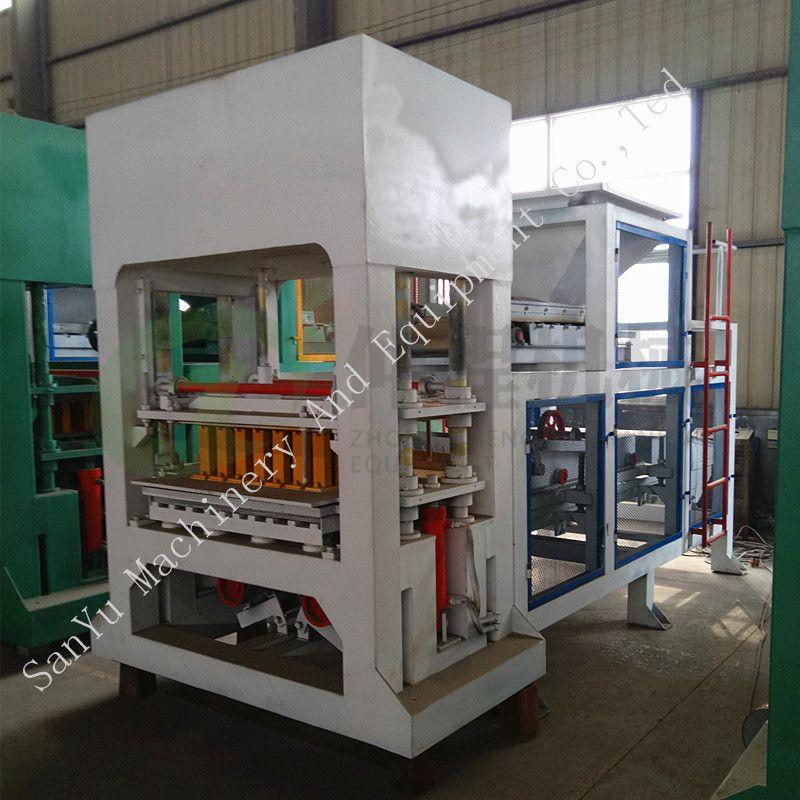 Dm8-15 Automatic Hydraulic Unburned Block Brick Machine