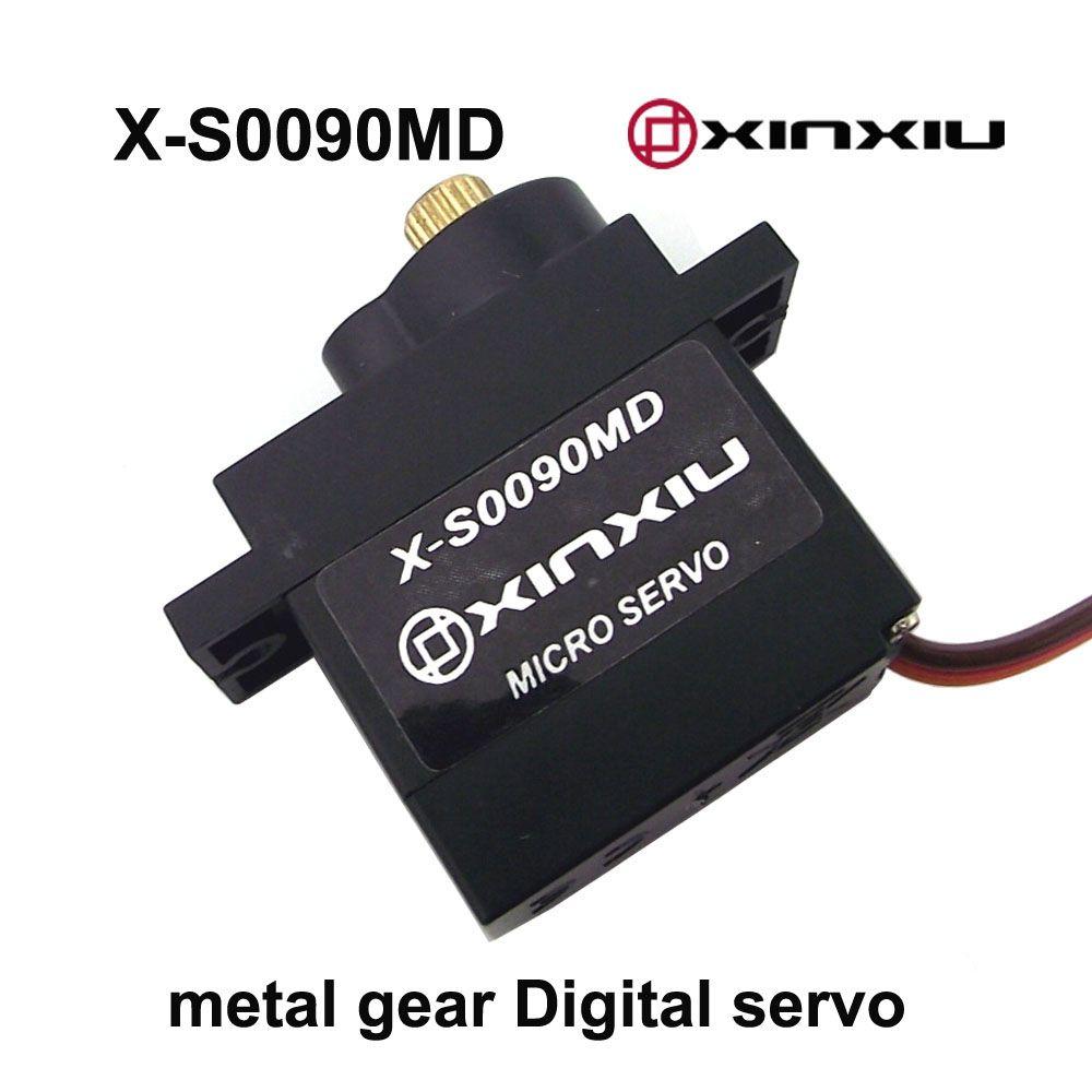 X-S0090MD 9g metal gear digital micro rc servo