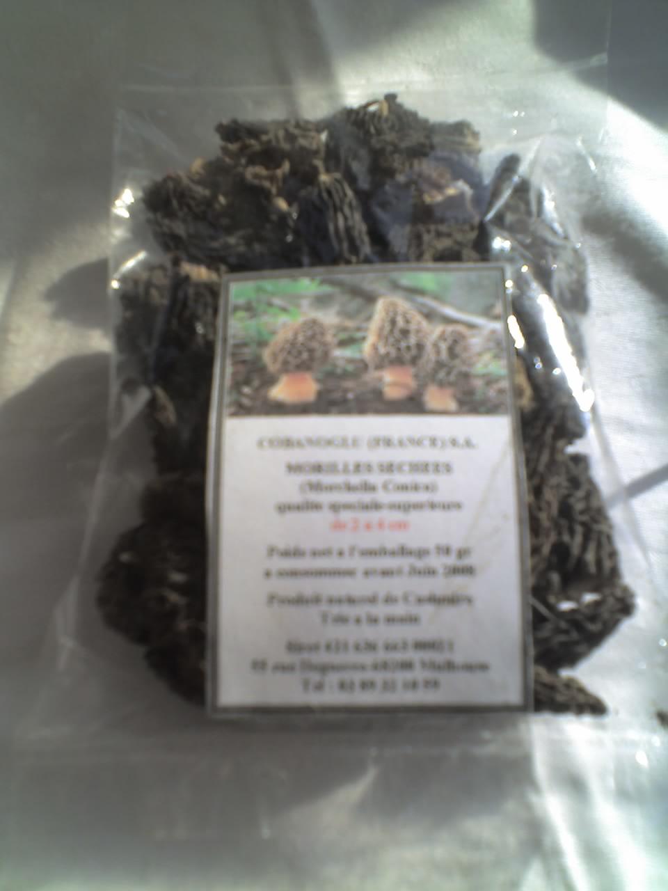 dried gourmets mushrooms