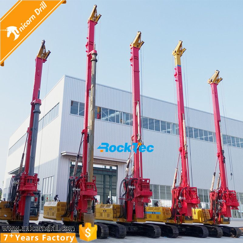 RockTec RT80 Mini Hydraulic Rotary Pile Drilling Rig