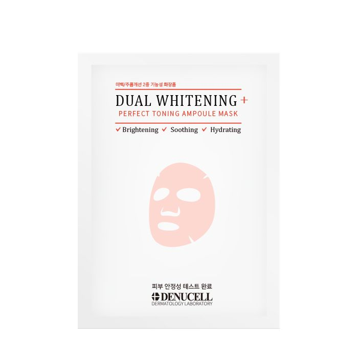 Dual Whitening+ Perfect Toning Ampoule Mask