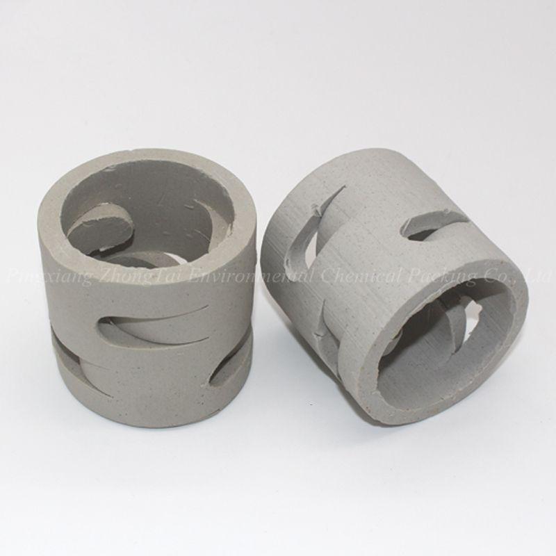 25mm 38mm 50mm 80mm Ceramic Random Packing Ceramic Pall Ring