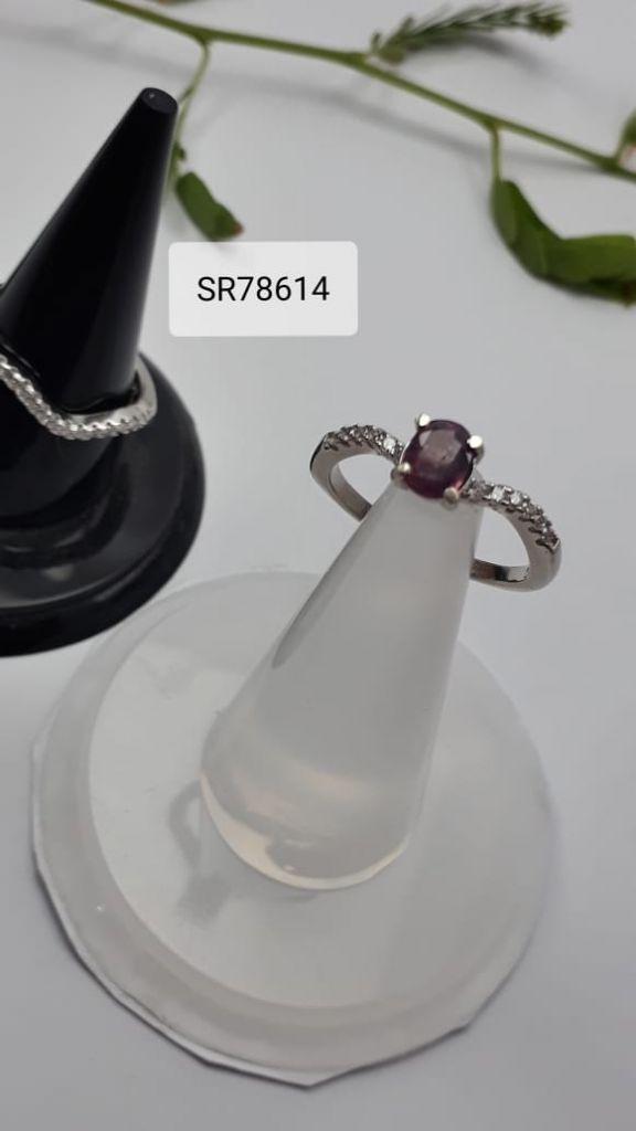 925 Sterling Silver Rings with natural gemstones 11 to 15