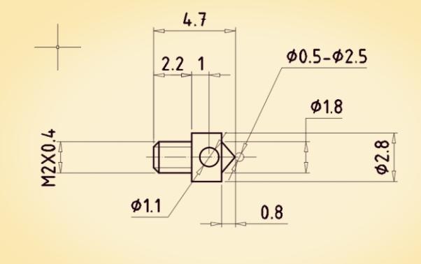 measuring implement Measurement head gear High precision measuring head measuring gear
