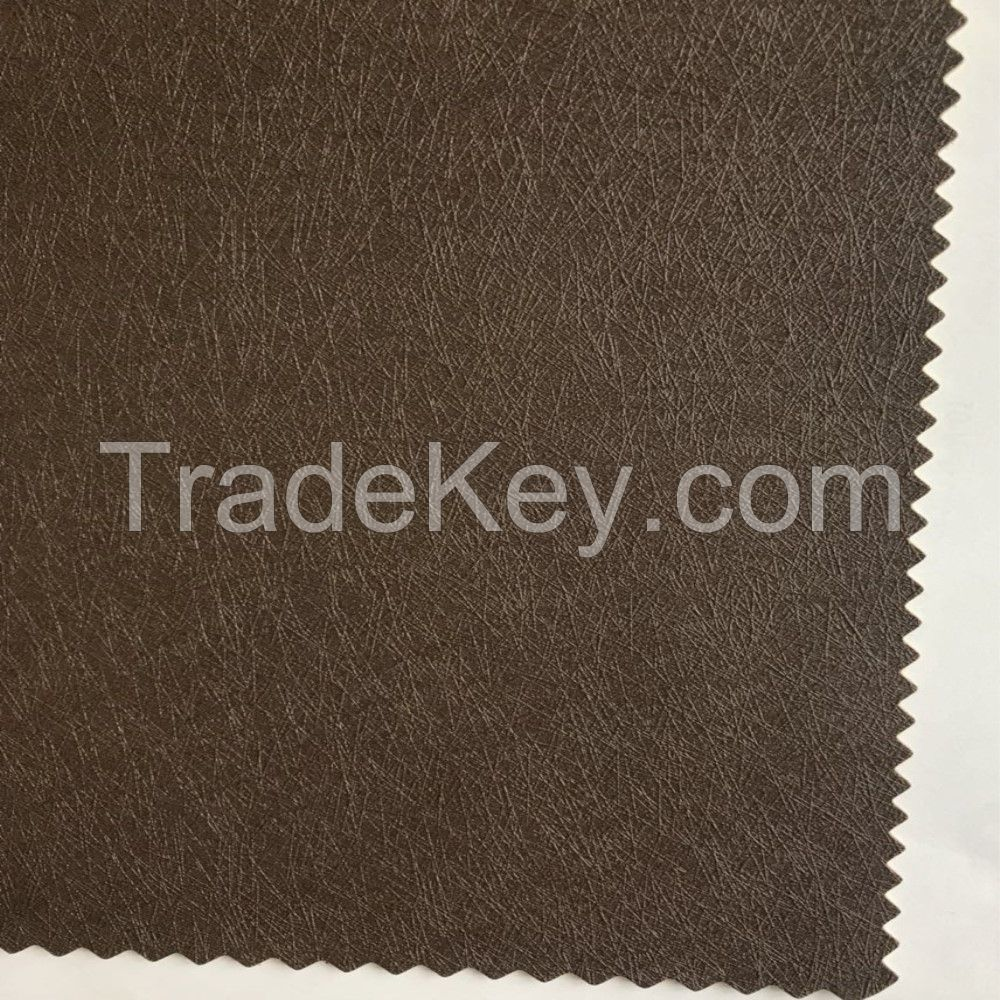 Eco Friendly Vegan Embossed Coating Leather