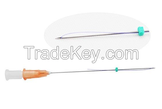 Sterile PDO Lifting Threads Polydioxanone Suture with Needle