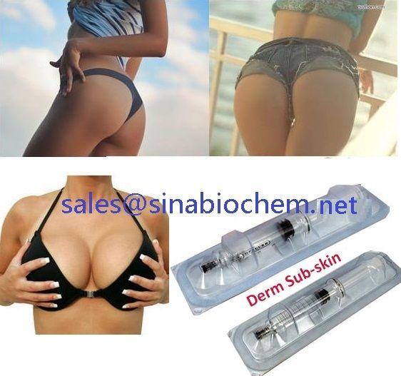 Injectable hyaluronic acid dermal filler hip buttock ha filler for beauty