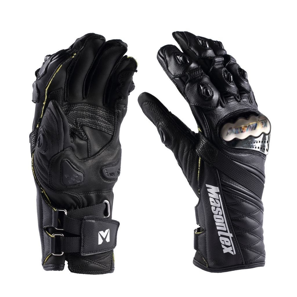 motorcycle full leather racing glove