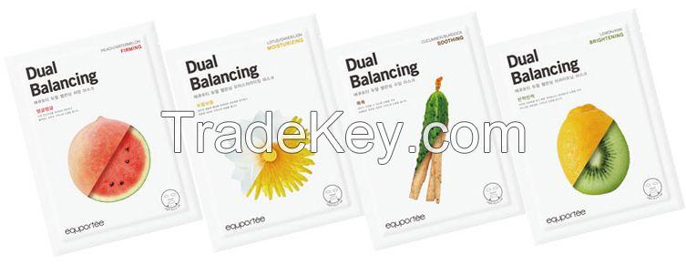 Daul balance mask (Soothing / CUCUMBER, BURDOCK)